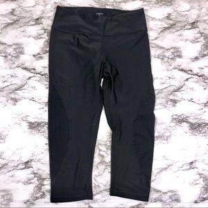 Zobha Black Capri Leggings Size Small